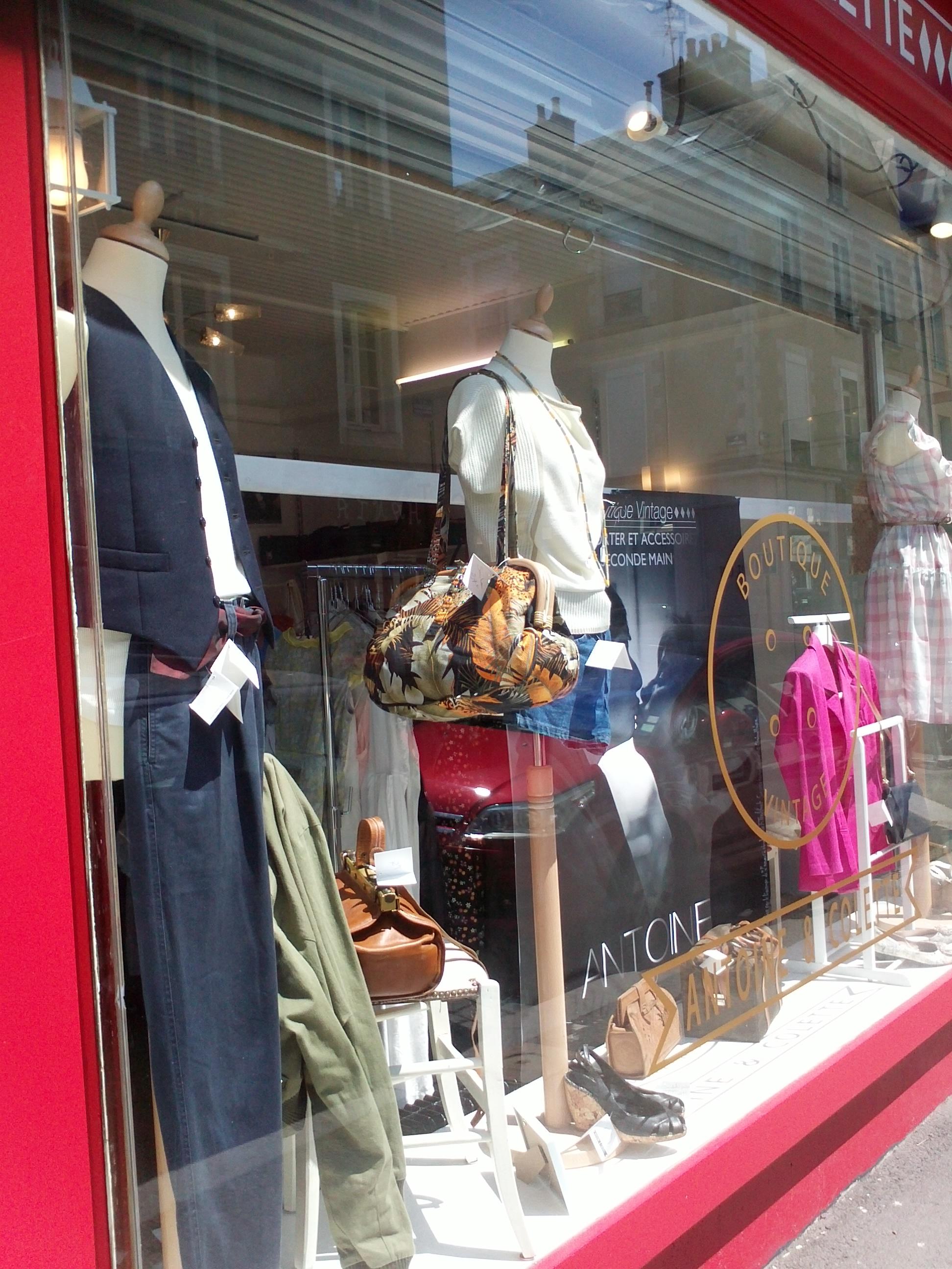 boutique vintage : antoine et colette - quand les bobos voient double
