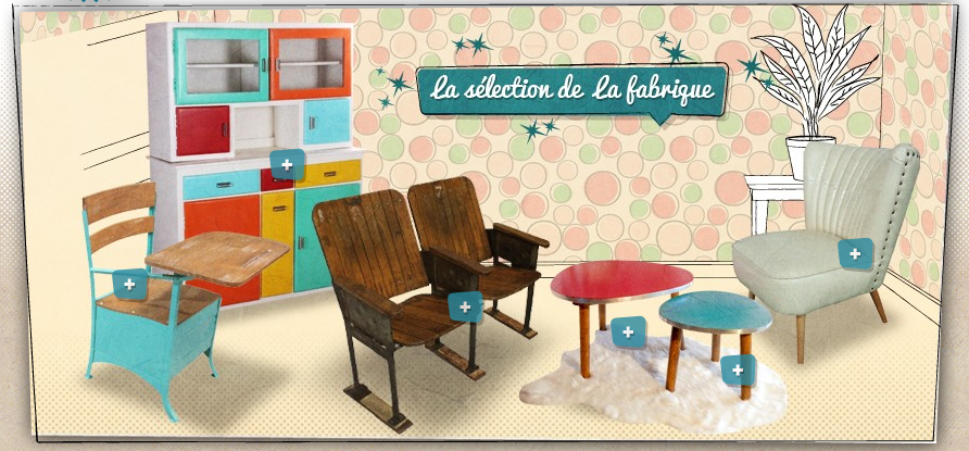 R dition de mobilier et d co vintage vintage people for Reedition meuble vintage