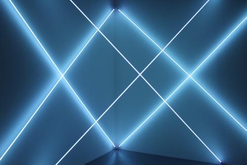 Triple X neonly - François Morellet