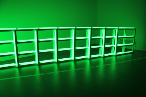 Untitled ( to you, Hainer, with Admiration and Affection ) - Dan Flavin